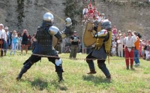 подання на території замку