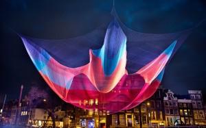 фестиваль світла в Амстердамі
