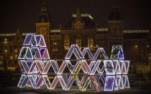 Амстердам вночі