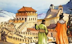 будівництво Великої Китайської стіни