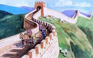 патруль на Великій Китайській стіні
