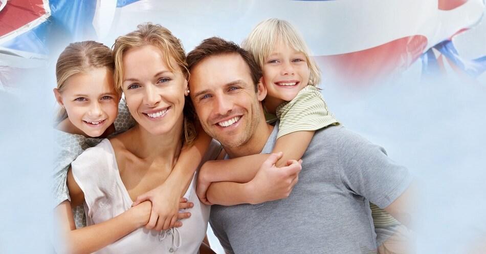 імміграція з сім'єю в США