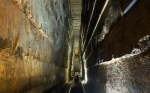 піраміда Хеопса всередині