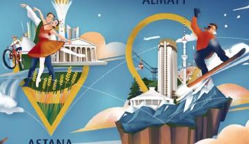 Новая услуга для авиапассажиров Air Astana: «Стоповер Холидейс»