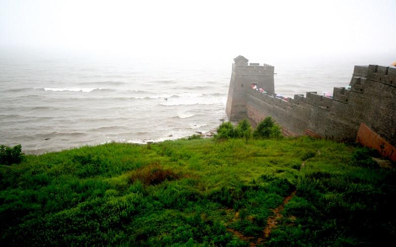 кінець Великої Китайської стіни