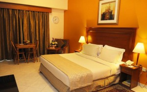 номер в Al Bustan Hotel Sharjah 4*, ОАЕ, Шарджа