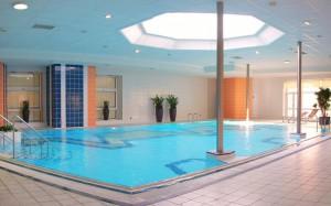 бассейн в отеле Beethoven 3*, Теплице, Чехия