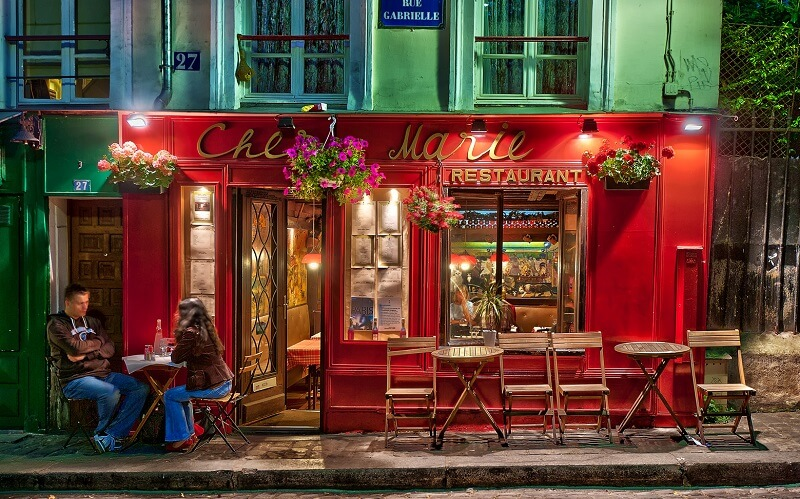 ресторан Парижа Chez Gabrielle