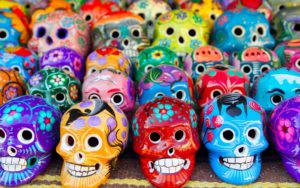 черепа в Мексиці