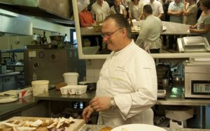 шеф-кухар ресторану Le Manoir du Lys