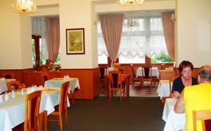 ресторан в готелі Modena 3*, Карлові Вари, Чехія
