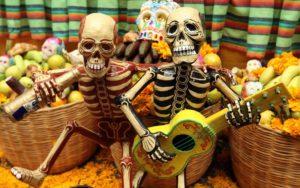 скелети на хеллоуїн