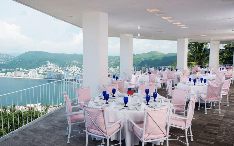 ресторан в отеле Las Brisas Acapulco 5*, Акапулько, Мексика