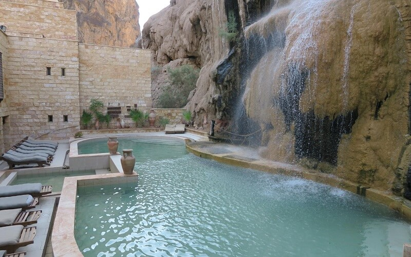 бассейн в отеле Ma'in Hot Springs Resort & Spa 5*, Маин, Иордания