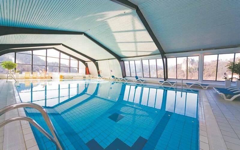 басейн в Park Hotel 4*, Блед, Словенія