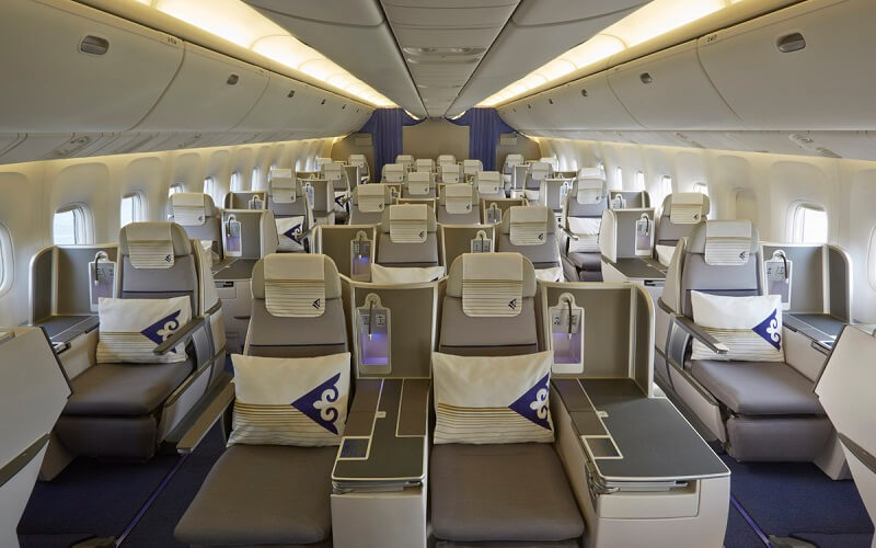 борт самолёта Air Astana