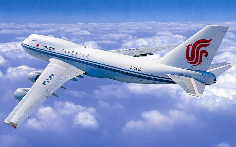 самолет авиакомпании Air China
