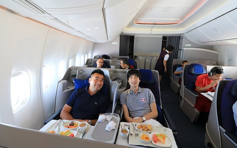 питание на борту Air China