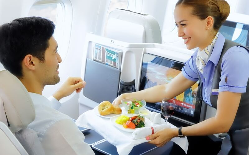 сервис Air Astana