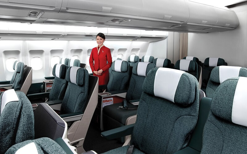 эконом класс авиакомпания CATHAY PACIFIC