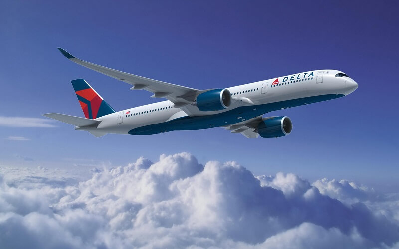 самолёт Delta Air Lines