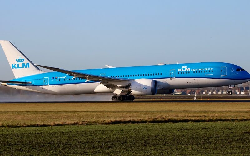 самолёт KLM