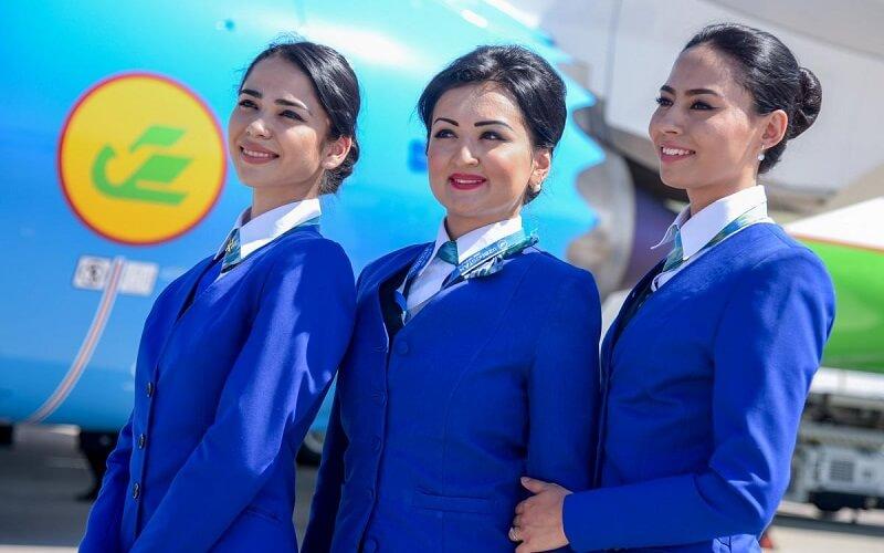 стюардессы Uzbekistan Airways