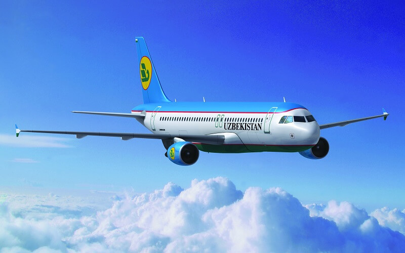 самолёт Uzbekistan Airways