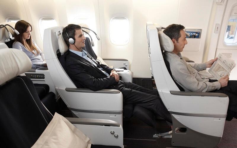 перелет в самолете французского авиаперевозчика Air France