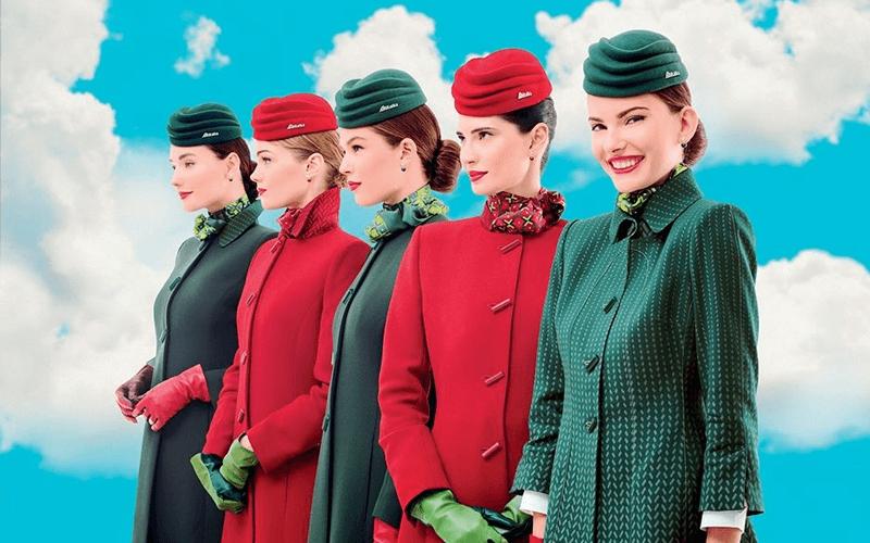 экипаж авиакомпании Alitalia