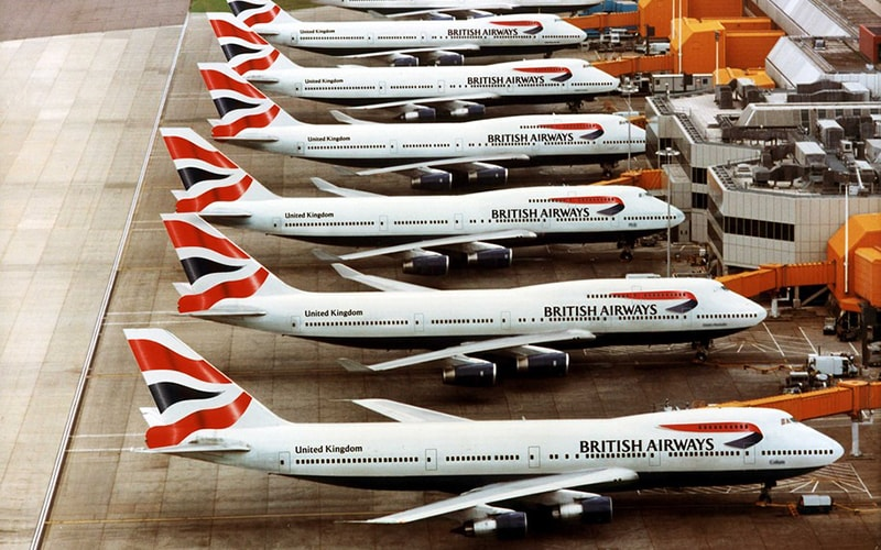 флот British Airways