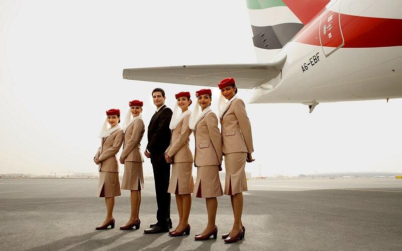 персонал авиакомпании Emirates