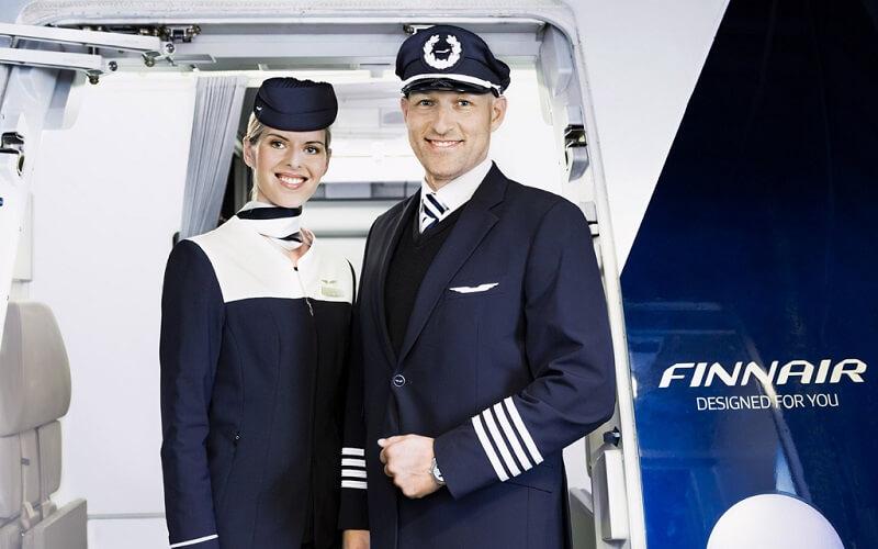 персонал авиакомпании Finnair