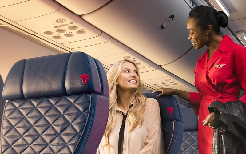 сервис Delta Air Lines