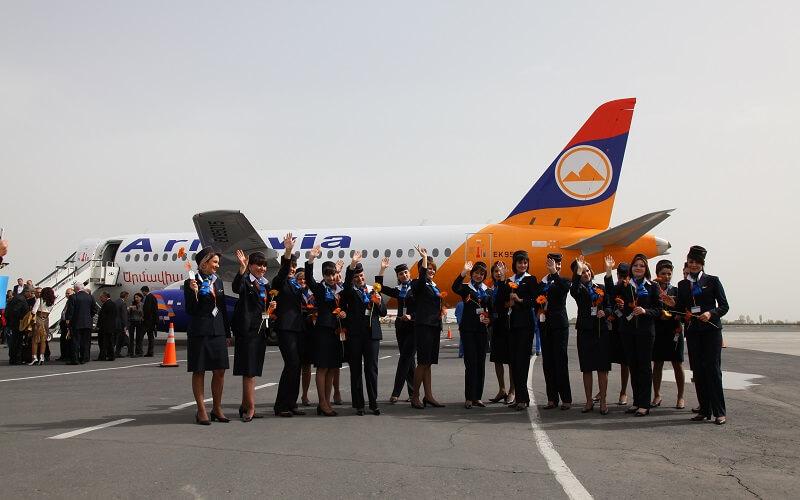 работники авиакомпании Armavia