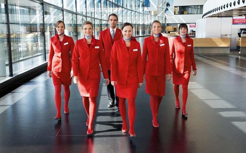 стюардессы Austrian Airlines