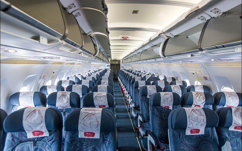 борт самолёта Czech Airlines