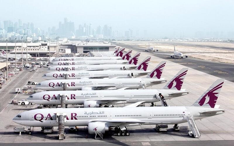 флот авиакомпании Катар Эйрвейвс