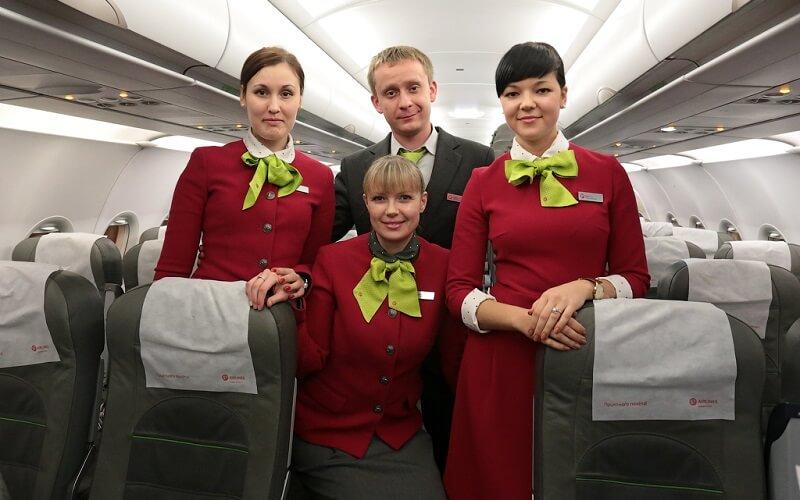 персонал авиакомпании S7 Airlines