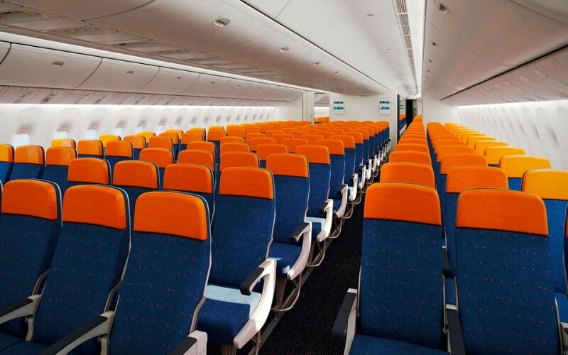 борт самолёта Aeroflot