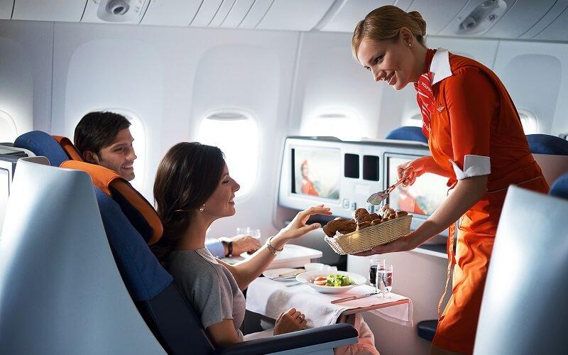 питание на борту Aeroflot
