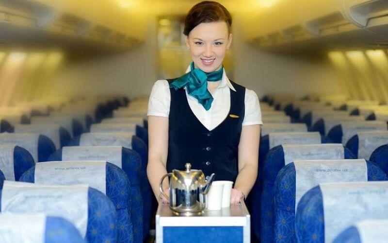 питание на борту Air Onix