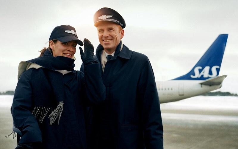 пилоты Scandinavian Airlines