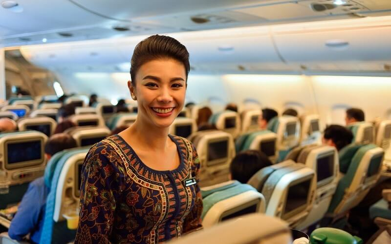 сервис авиакомпании Singapore Airlines