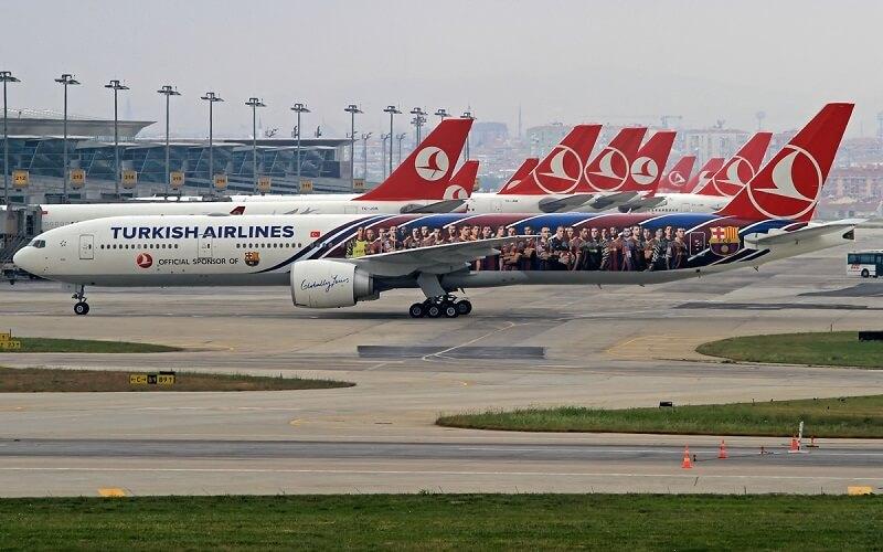 флот Турецких Авиалиний
