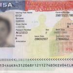 Виза в США, тип B1/B2, 2014