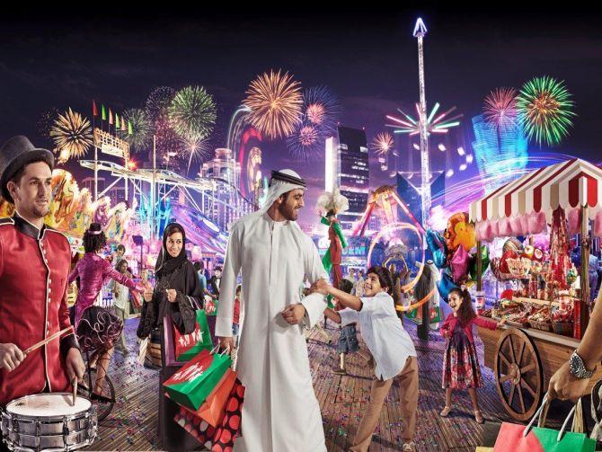 Фестиваль шопинга в Дубаи 2015