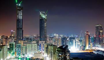 Ночной город, Абу-Даби