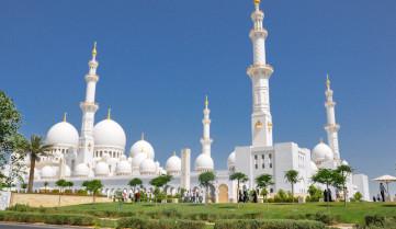 Мечеть, Абу-Даби