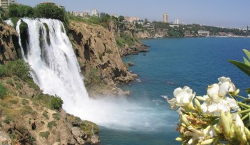 Водопад, Анталия